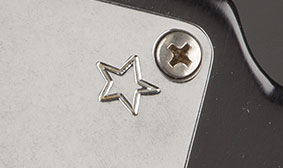 "Stamped ""Star"" Neck Plate"