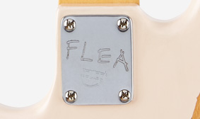 FLEA LOGO NECK PLATE