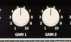 Dual gain controls
