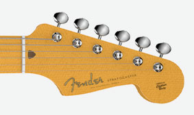 Staggered Vintage-Style Tuners