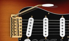 Left-Handed Stratocaster Tremolo