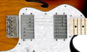 Wide Range Humbucking Pickups
