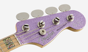 Matching Painted Headstock