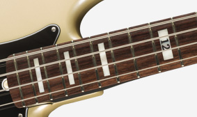 ROSEWOOD FINGERBOARD WITH BLOCK INLAYS