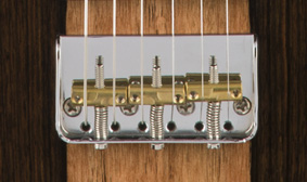 Custom Short-Cut-Plate Tele Bridge