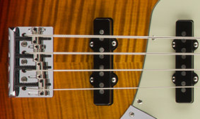 V-Mod Single-Coil Jazz Bass Pickups