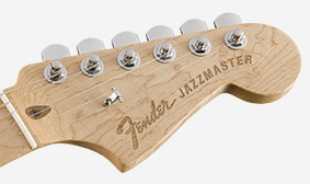 Laser-Engraved Headstock Logo