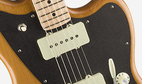Black Anodized Aluminum Pickguard