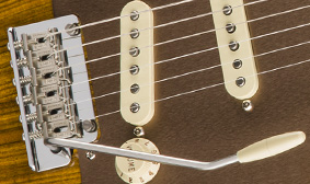 Two-Point Synchronized Tremolo with Pop-In Arm
