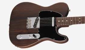 CHAMBERED ROSEWOOD BODY