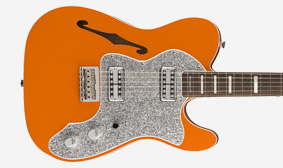 DOUBLE-BOUND SEMI-HOLLOW BODY