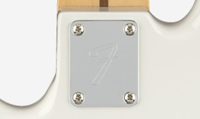 """""""F""""-STAMPED NECK PLATE"""