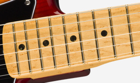 ONE-PIECE BIRDSEYE MAPLE NECK