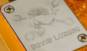 Signature David Lozeau Neck Plate