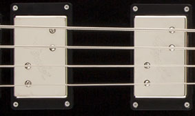 WIDE RANGE BASS HUMBUCKING PICKUPS