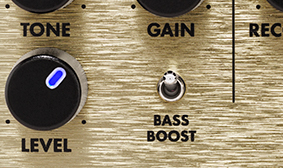 BASS BOOST SWITCH
