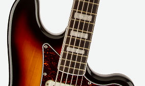 """MODERN NECK WITH """"C""""-SHAPED PROFILE"""