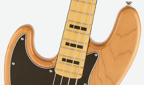 "SLIM ""C""-SHAPED MAPLE NECK"