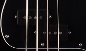 SPLIT SINGLE-COIL PICKUP