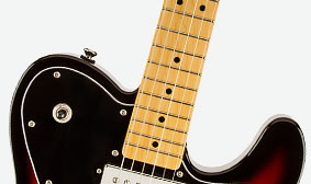 "MODERN NECK WITH ""C""-SHAPED PROFILE"