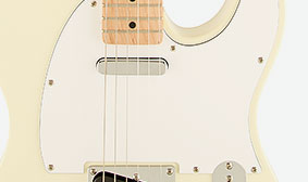 THREE-PLY WHITE/BLACK/WHITE PICKGUARD