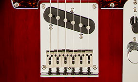 HOT SINGLE-COIL PICKUP IN THE BRIDGE POSITION