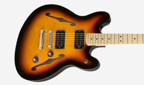 ARCHED SEMI-HOLLOW BODY