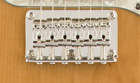 VINTAGE-STYLE STRING-THROUGH-BODY BRIDGE