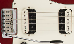 Dual Ceramic Zebra Humbucking Pickups