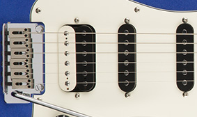Ceramic Zebra Humbucking Bridge Pickup