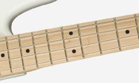 "12""-Radius Fingerboard"