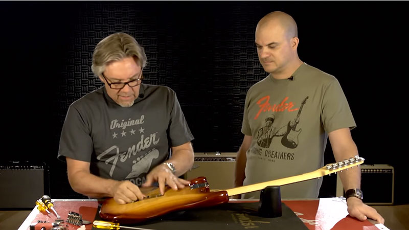 Fender Vintage-Style Standard Series Stratocaster Tremolo Assemblies
